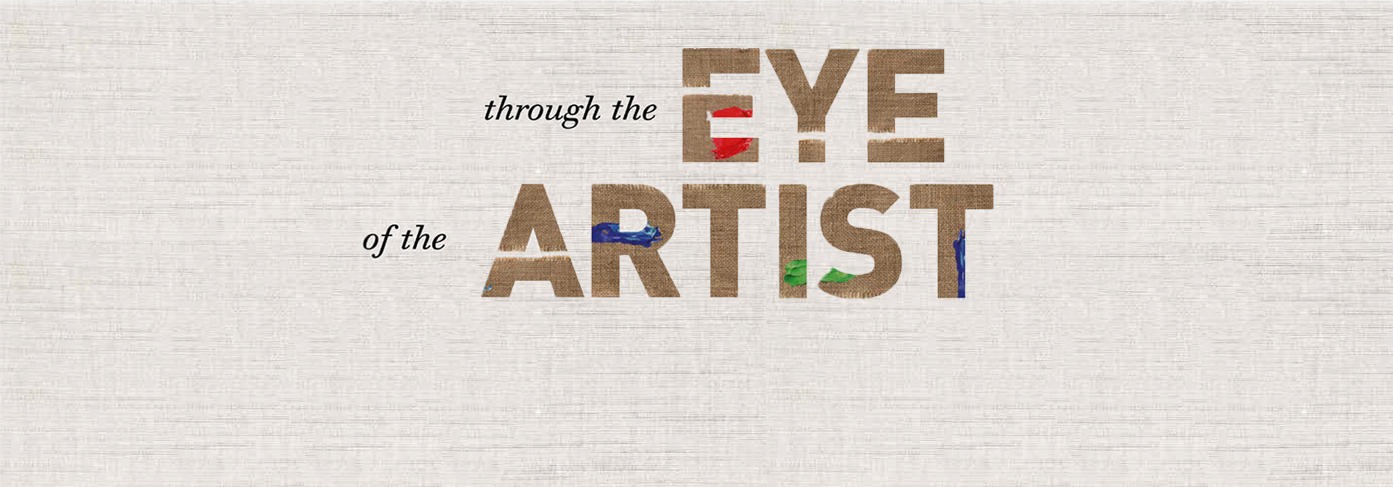 Through the eye of the artist - Goes Oogcentrum